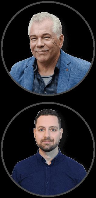 Fotos TA+ Trainer Bernd Taglieber und Steffen Raebricht